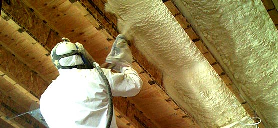 Spray foam insulation summit insulation for Foam basement forms
