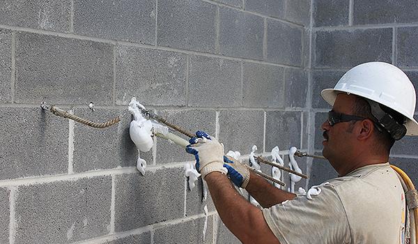 Cmu Injection Foam Insulation Summit Insulation